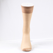 China supplier skin color nude transparent ankle socks women with cheap price