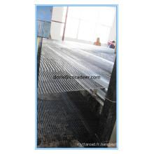 Géogrille en fibre de verre de renfort d'asphalte certifiée CE