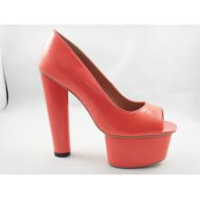 Nuevas sandalias de diseño Ladies Chunk (HCY03-111)