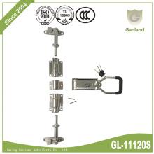Cerradura de puerta de camión de carga deslizante de acero inoxidable 304