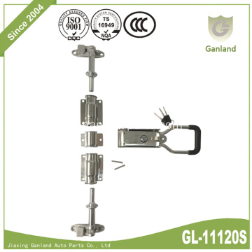 304 Stainless Steel Geser Cargo Lorry Door Lock