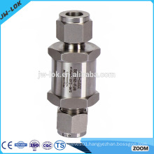 Wafer type weighted swing check valve