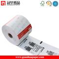 """2-1 / 4 """"X 85"""" POS gedrucktes thermisches Quittungspapier nagelneu"""
