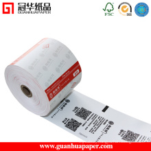 80X80 Adhesive Thermal Paper Roll