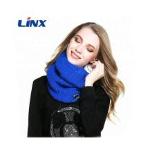 Auriculares de bufanda Bluetooth de calentador de cuello de punto