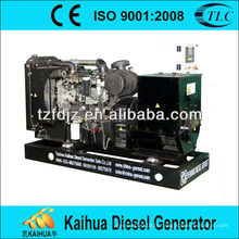 Générateur diesel de type ouvert de 80kw actionné par le moteur de Perkins avec le certificat de la CE