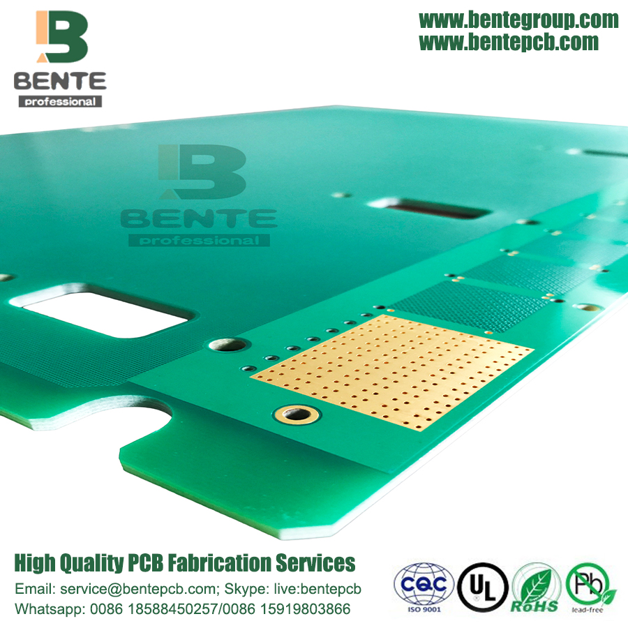 "Prototype PCB 2 Layers 3.2mm FR4 PCB ENIG 2u"" Thick board"