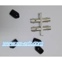St Duplex Multimode Fiber Optic Adapter