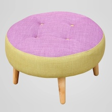 Fabric Wooden Stools with High Quality