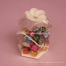 Custom Clear Plastic Box Packaging (PP candy box)
