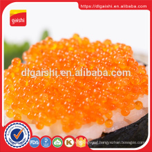 Gold supplier red and black frozen flying fish roe tobiko