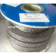 Flexible/Expanded Graphite Braided Packing(SUNWELL)