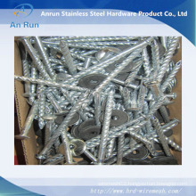 Electro Galvanized Roofing Nails with Rubber Washer