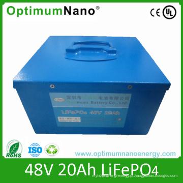 Bateria de lítio 48V para E-Scooter 20ah