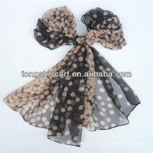 самая дешевая печать модный шарф