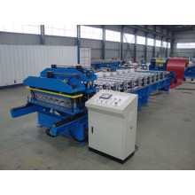 Galvanized Cold Sheet Glazed Tile Roof Roll Forming Machine