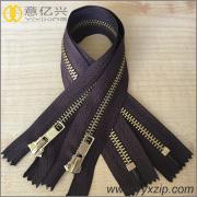 Garment accessory no.5 metal teeth jeans zipper