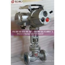 Op. Eléctrico Válvula de globo estándar DIN Pn64