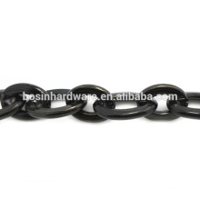 Fashion High Quality Metal Aluminum Oval Cable Chain