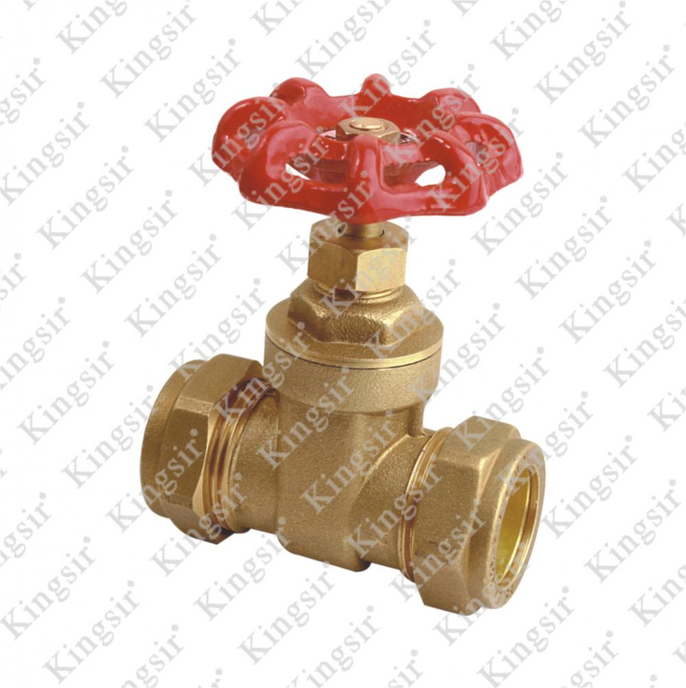 FORGE BRASS GATE VALVE WITH UNION NUT