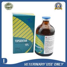 Medicamentos Veterinários de Injecção de Sulfato de Gentamicina a 10% (100ml)