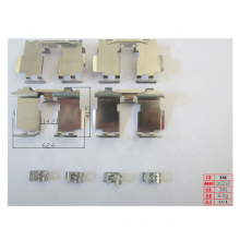 China suppliers good quality car brake pad accessories brake kit auto disc brake pad clips for Toyota Nissan Hyundai Kia