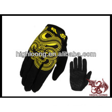 new style man bike gloves with design