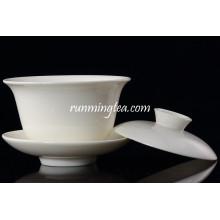 High Quality White Ceramic Gaiwan Cup