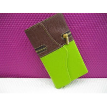 Wallet Leather Samsung Protective Case With Zipper For Galaxy I9500