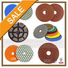 Multi Compound Back Plate Granite and Marble Polishing Pads