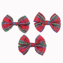 Gingham Papillon with 4 Loops