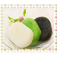 Bath1 00% Natural Konjac Sponge, Губка для лица / чистящие средства