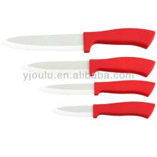 Couteau en céramique OL019 avec poignée TPR