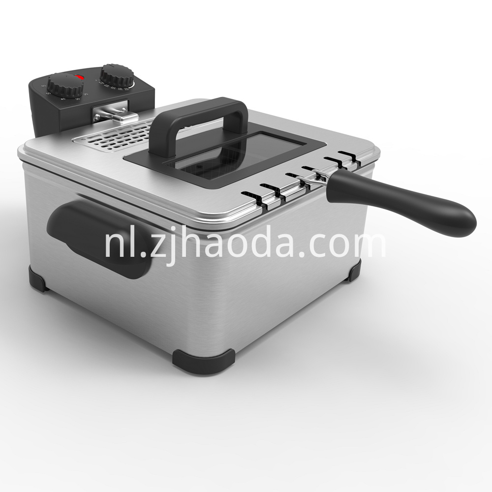 Deep Fryer With Basket and Timer