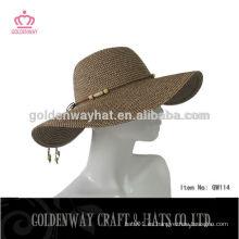 Señoras verano elegante sombreros baratos