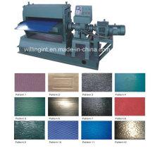 Machine de gaufrage en acier de haute qualité et dérouleur