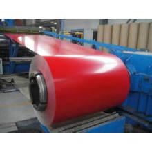 0,4 мм / 0,45 мм / 0,47 мм / 0,5 мм Предварительно окрашенная стальная кровельная плёнка PPGI
