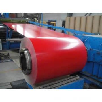 0,4 mm / 0,45 mm / 0,47 mm / 0,5 mm Bobine de toiture en acier pré-peinture PPGI