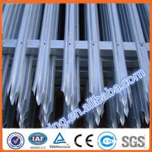 Preiswertes Zink-Stahl-Zaun / PVC beschichtet und verzinktem Stahl Zaun --- Größte Drahtgeflecht Fabrik