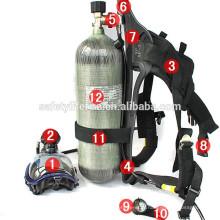 Appareil respiratoire / lutte contre l'incendie de lutte contre l'incendie / appareil respiratoire portatif