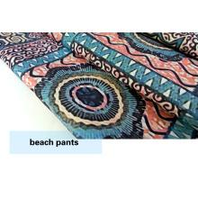 Polyester, neues Design Stoffdruck für Strandshorts / lässig zu tragen