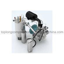 Made in Germany Compressor de ar parafuso livre de óleo