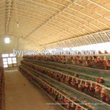 Venta de la jaula de la capa de la batería de pollo para la granja de Pakistán hecha en China