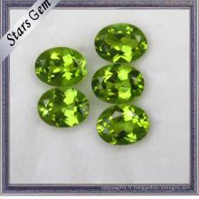 Shine Oval Shape Natural Peridot Stones