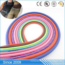 Nuevo diseño recubierto de tejido Cuerda Productos utilizados para Cuerda de perro correa