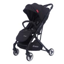 Carrinho de bebê portátil dobrável e leve O menor avião compacto para viagens Armazenamento compacto 5 pontos Segurança