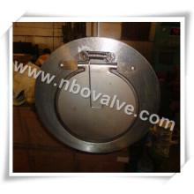 Single-Disc Válvula de retenção Wafer de disco inclinável (H71)
