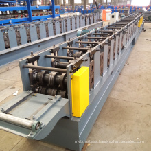 Passed ce steel rack shelving pallet rollforming machine / rack beam upright roll forming machine for purline