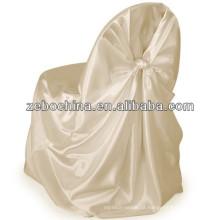 Hot vender design direto fábrica feita personalizado atacado ruffled casamento cadeira cobertura