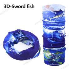 Impressão 3D Fish Fishing Scarf